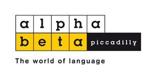 Logo alpha beta piccadilly